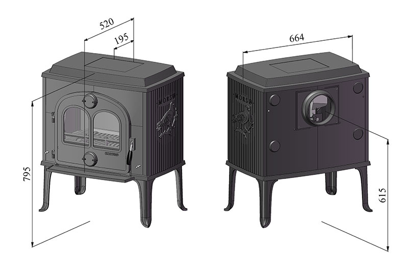 Mors 248 1630 Classic Stove Atmost Firewood And Services Malta